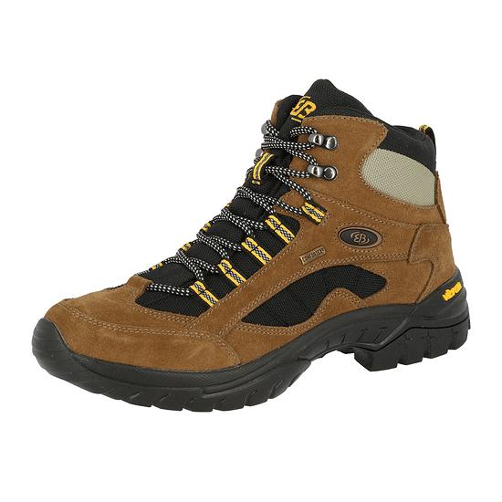 Brütting Trekking Stiefel Chimney Rock braun/schwarz/gelb
