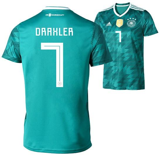 Adidas Deutschland WM 2018 DFB Trikot Auswärts DRAXLER