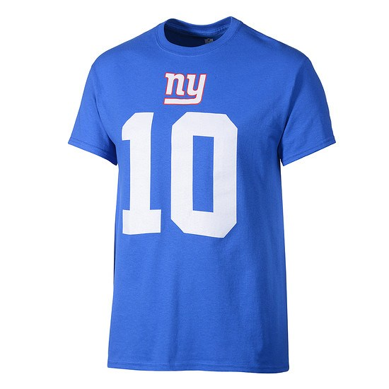 Majestic Athletic New York Giants T-Shirt Manning Nr 10 blau