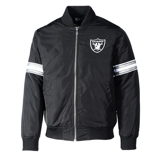 sports shoes 3a32c febb6 New Era Oakland Raiders Bomberjacke Team