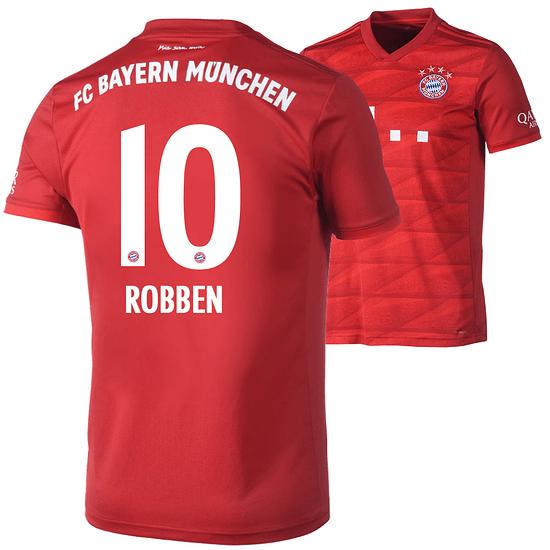 Adidas FC Bayern München Heim Trikot ROBBEN 2019/2020 Kinder
