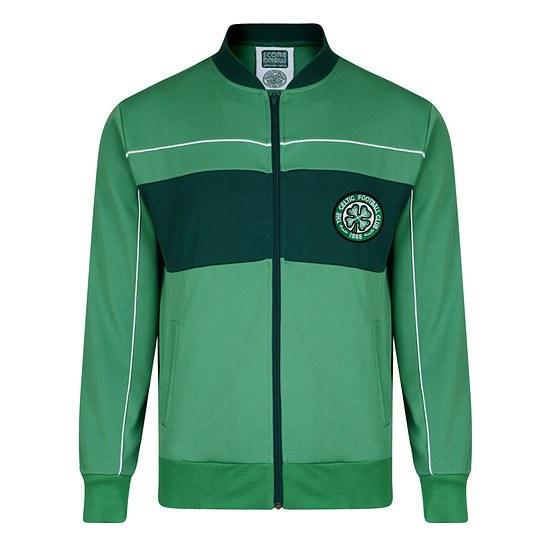 Scoredraw Celtic Glasgow Retro Trainingsjacke 1984