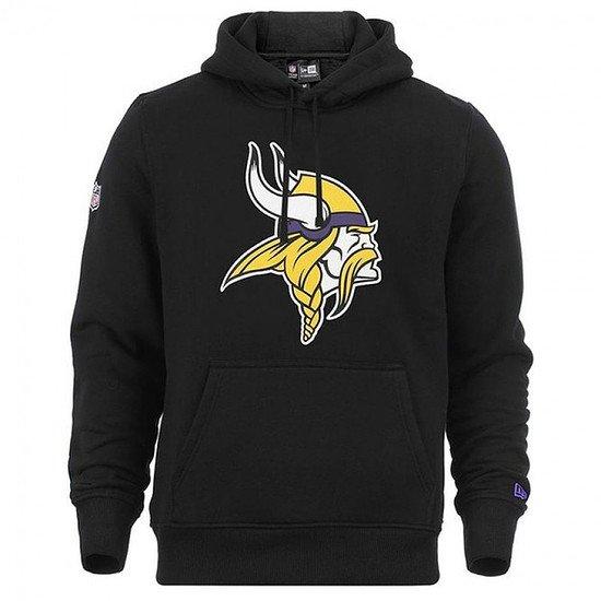 New Era Minnesota Vikings Hoodie Team Logo schwarz