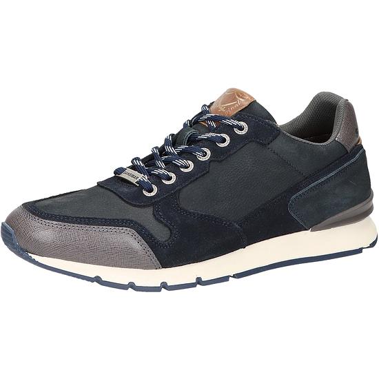 Sansibar Sneaker Leder dunkelblau