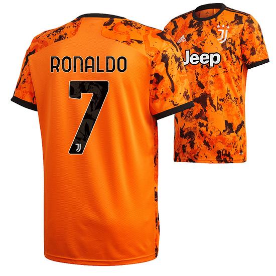 Adidas Juventus Turin Trikot RONALDO 2020/2021 CL