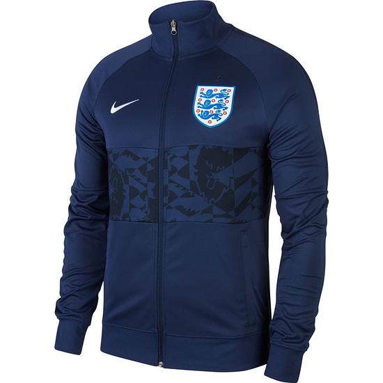 Nike England Track Jacket EM 2021 Blau