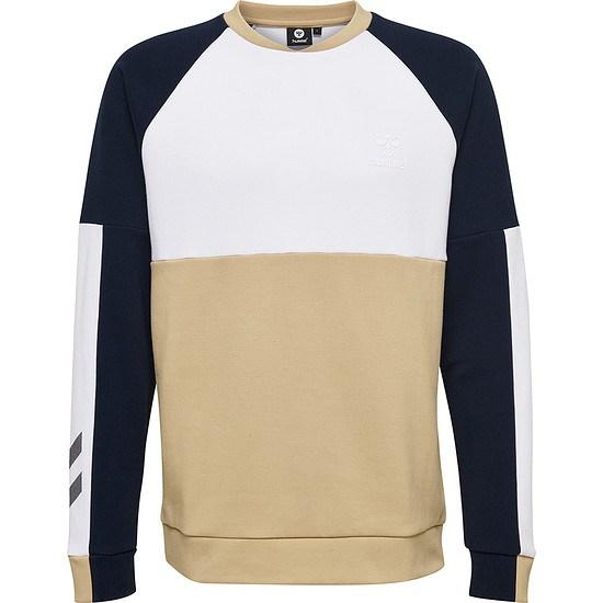 hummel Sweatshirt Owen beige/weiß