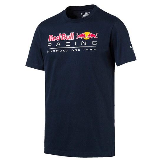 Puma Red Bull Racing T-Shirt Formula One Team Blau