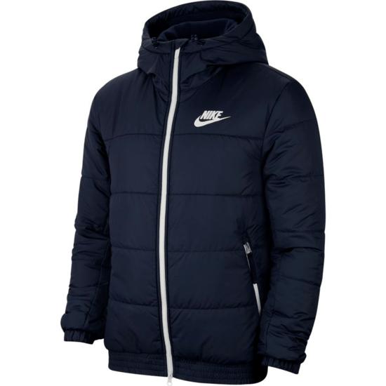 Nike Winterjacke Hooded Blau