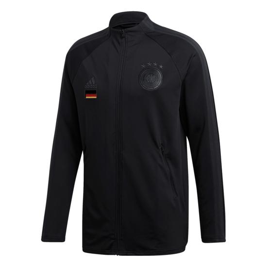 Adidas Deutschland DFB ANTHEM Jacket EM 2020 Kinder Schwarz