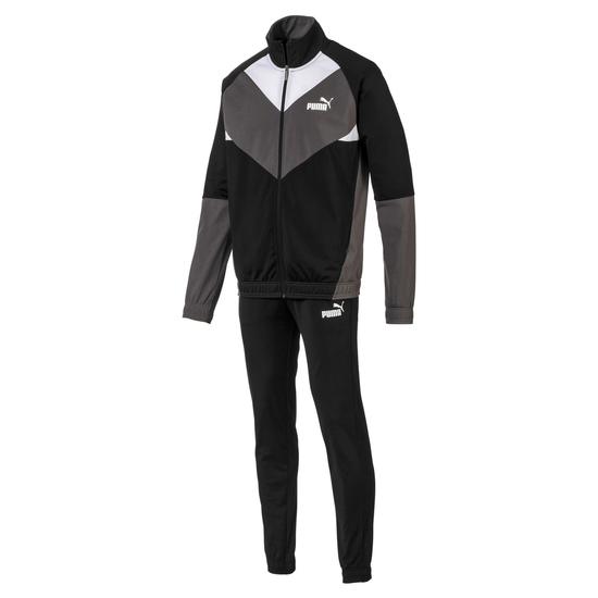 Puma Freizeit- und Trainings- Anzug Retro Schwarz