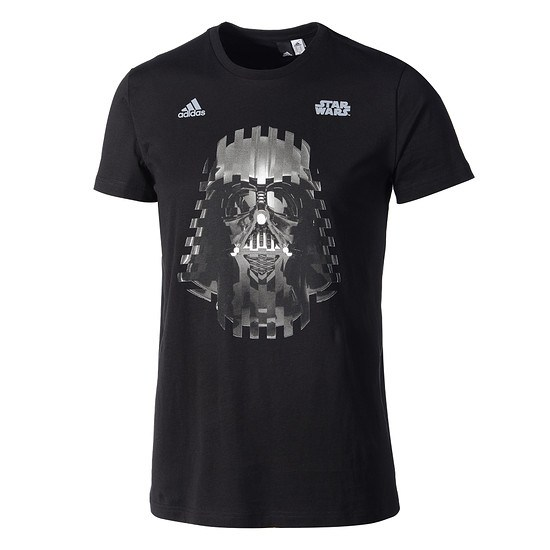 Adidas T-Shirt Star Wars Darth Vader schwarz