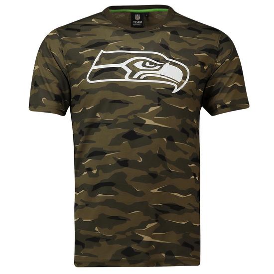 Fanatics Seattle Seahawks T-Shirt Digi Camo khaki