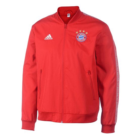 Adidas FC Bayern München Präsentationsjacke 2019/2020 Rot
