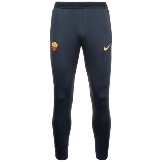 Nike AS Rom Trainingshose Dry Strike dunkelblau/gelb