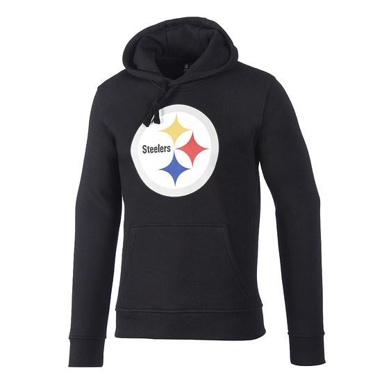 New Era Pittsburgh Steelers Hoodie Team Logo schwarz