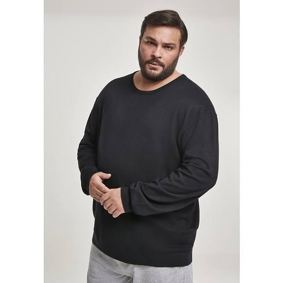 URBAN CLASSICS Sweatshirt Longsleeve schwarz