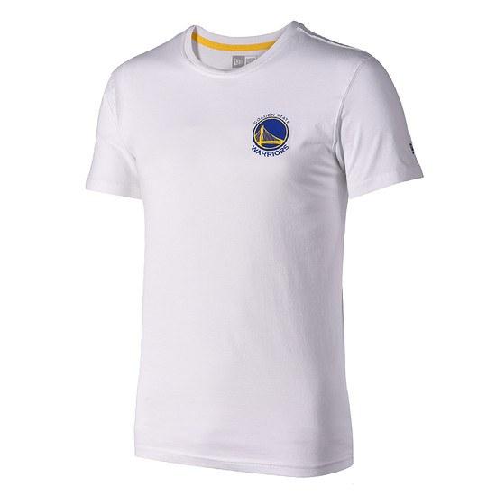 New Era Golden State Warriors T-Shirt Tip Off weiß