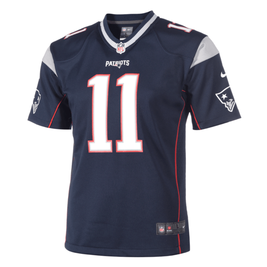 Nike New England Patriots Trikot Julian Edelman Kinder blau