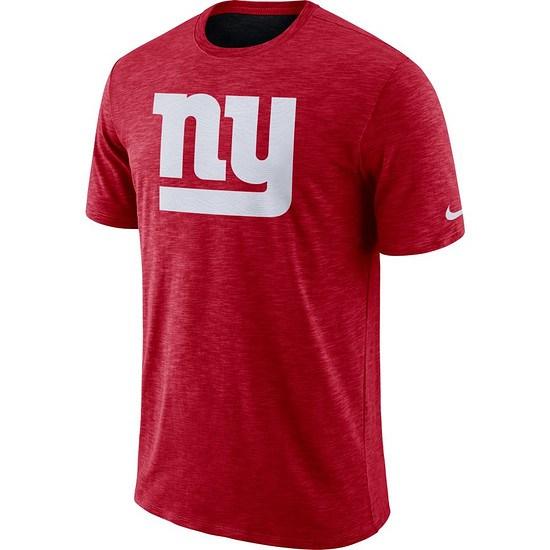Nike New York Giants T-Shirt SLUB Rot