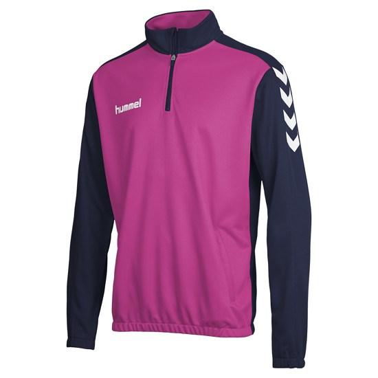 hummel Sweatshirt Core 1/2 Zip marine/violet