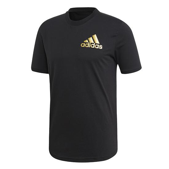 Adidas T-Shirt SORT ID Schwarz