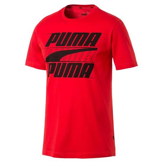 Puma T-Shirt Rebel Basic Rot