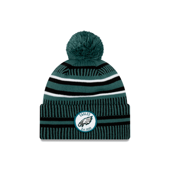 New Era Philadelphia Eagles Beanie On Field Sport Knit HM grün