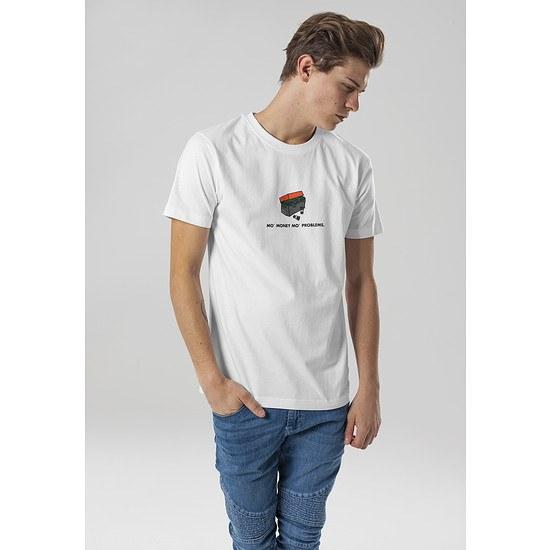 Mister Tee T-Shirt Shoebox weiß