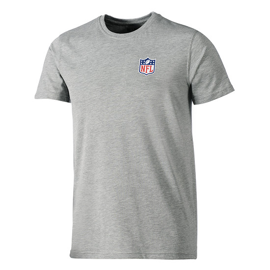 New Era T-Shirt NFL Shield Team grau