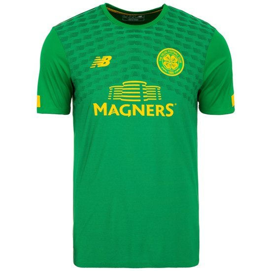 New Balance FC Celtic Glasgow Trainingsshirt Pre-Match grün/gelb