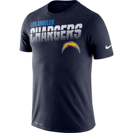 Nike Los Angeles Chargers T-Shirt NK Blau