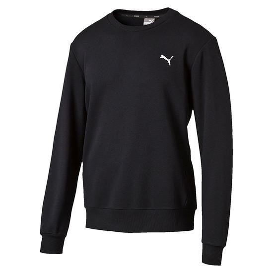 Puma Sweatshirt ESS Crew TR Schwarz