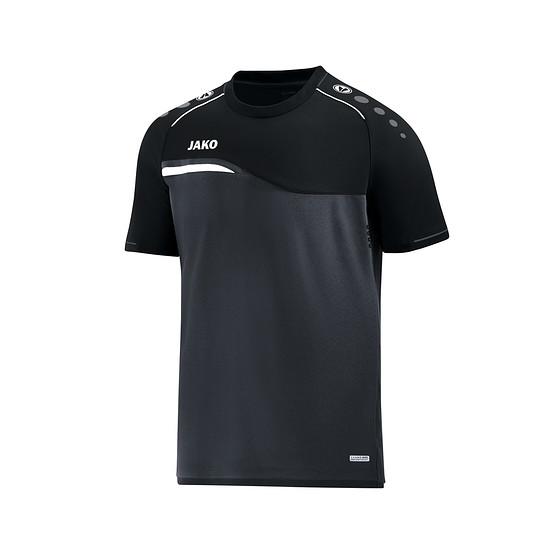 Jako T-Shirt Competition 2.0 anthrazit/schwarz