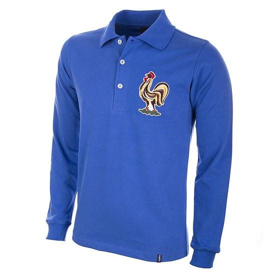Copa Frankreich 1950's Long Sleeve Retro Shirt