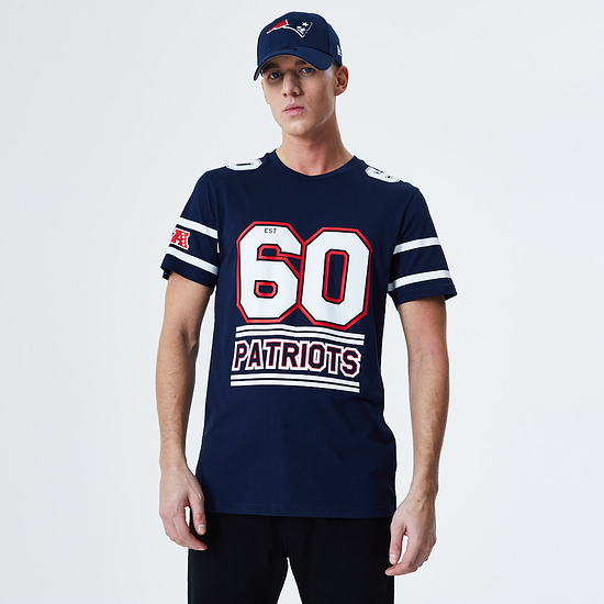 New Era New England Patriots T-Shirt Team Established blau
