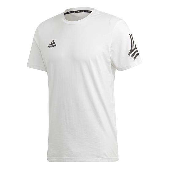 Adidas T-Shirt TAN LOGO Weiß/Schwarz