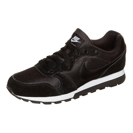 Nike Sneaker MD Runner 2 Damen schwarz/weiß