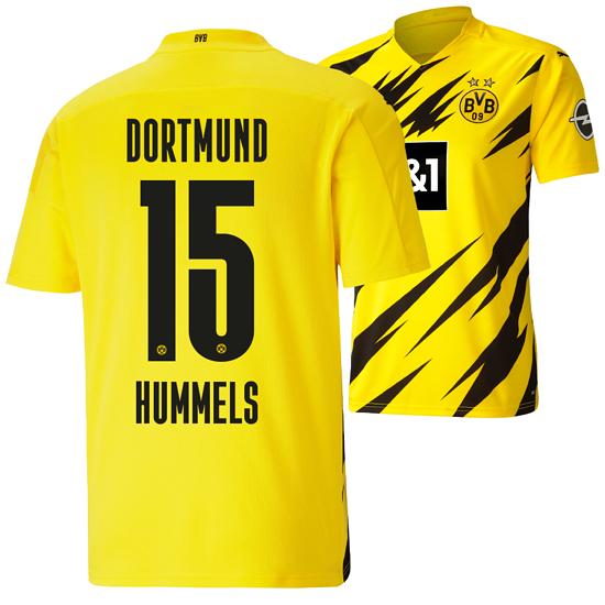 Puma Borussia Dortmund Heim Trikot HUMMELS 2020/2021 Kinder