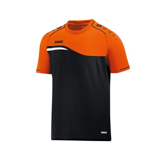 Jako T-Shirt Competition 2.0 schwarz/neonorange