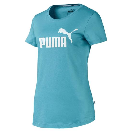 Puma T-Shirt ESS Damen Blau