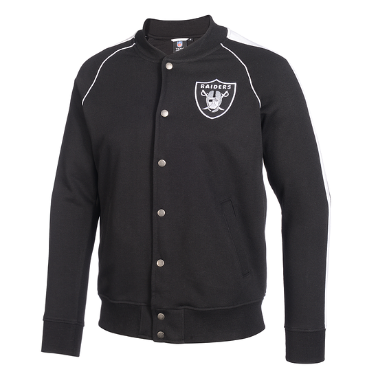 Majestic Athletic Las Vegas Raiders Fleecejacke Melter schwarz