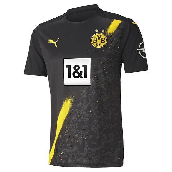 Puma Borussia Dortmund Trikot Auswärts 2020/2021 Kinder
