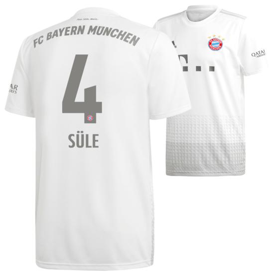Adidas FC Bayern München Auswärts Trikot SÜLE 2019/2020 Kinder