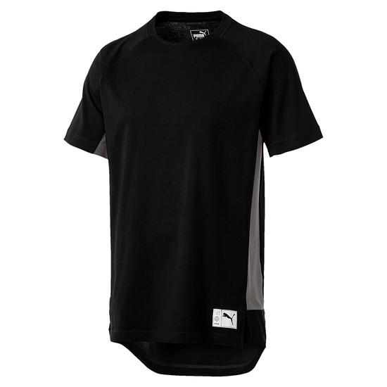 Puma T-Shirt NEXT Casuals Graphic Schwarz/Grau