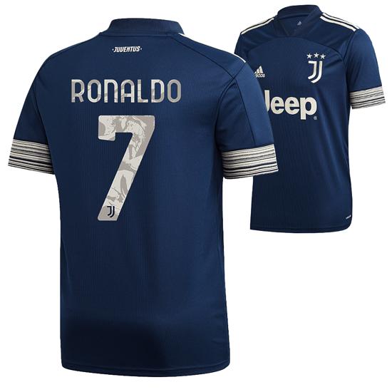 Adidas Juventus Turin Trikot RONALDO 2020/2021 Auswärts Kinder