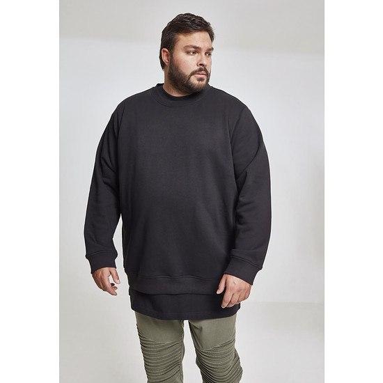 URBAN CLASSICS Sweatshirt Basic Terry schwarz