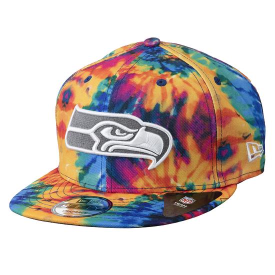 New Era Seattle Seahawks Cap Crucial Catch 2020 9FIFTY bunt