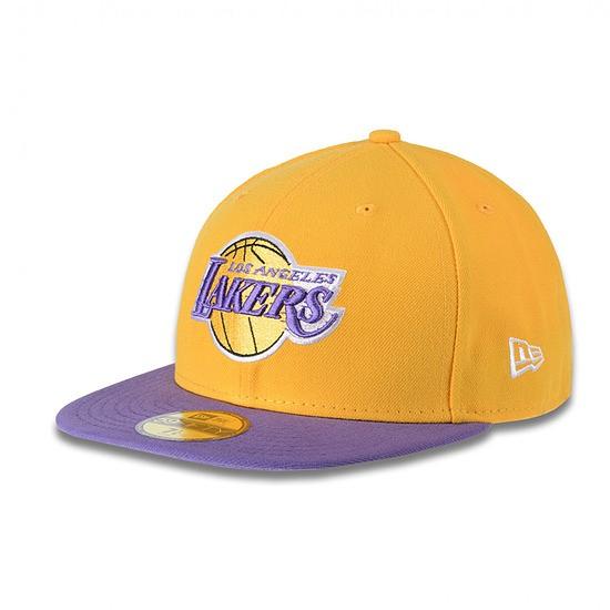 New Era Cap Basic LA Lakers gelb/lila