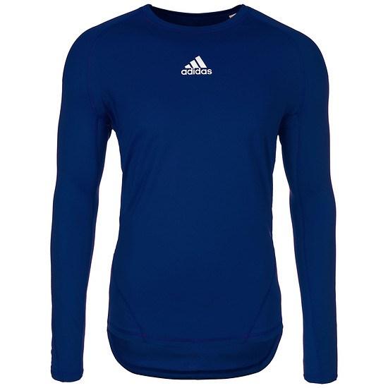 Adidas Trainingsshirt AlphaSkin Sport dunkelblau